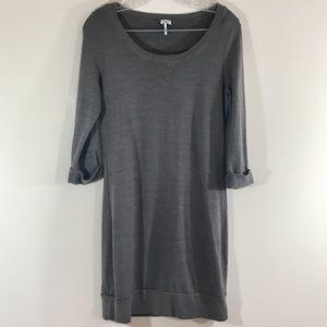 Splendid Gray Sweater Dress sz M